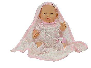 Nines Artesanals dOnil - Muñeco bebé recién nacido con toquilla (3100)