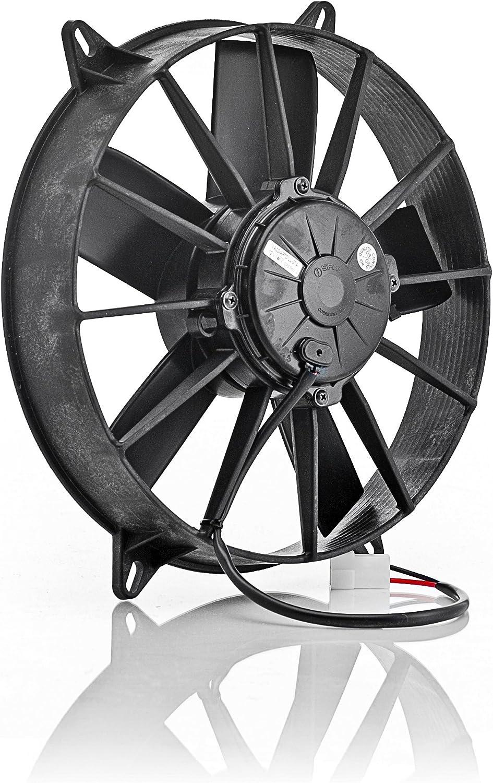 Be Cool 75006 Euro-Black 11 High-Torque Electric Pusher Fan