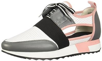 66ab5fe6395 Steve Madden Womens Arctic Grey Multi Sneaker - 5.5
