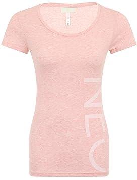 adidas Neo Logo T mujer camiseta Rosa rosa Talla:large: Amazon.es: Deportes y aire libre