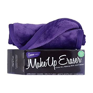 MakeUp Eraser - Toallita Desmaquillante. Color Púrpura: Amazon.es ...