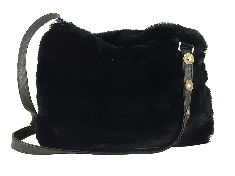 d151e185bb3d Amazon.com  LONI Womens Faux Fur Hobo Crossbody Shoulder Bag Handbag  LONI  - MADE IN THE UK