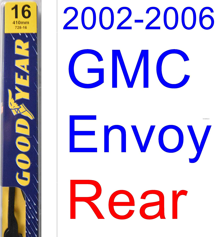 2002 2006 Gmc Envoy Replacement Wiper Blade Set Kit 2004gmcenvoypartsdiagram 2004 Parts Diagram Search Of 3 Blades Goodyear Premium 200320042005 Automotive