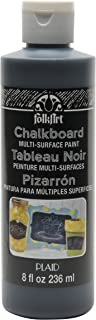 product image for FolkArt Multi-Surface Chalkboard Paint (8 Ounce), Black