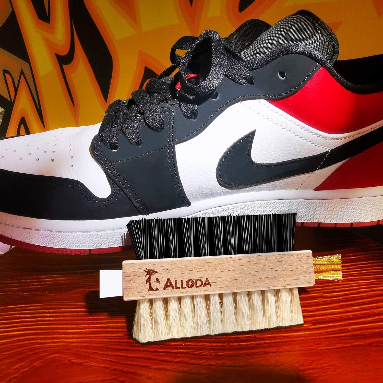 Soft Shoe Cleaner /& Hard Sneaker Cleaner /& Brass Suede Shoe Cleaner /& Eraser Suede Brush Alloda Cleaning Brushes Premium Shoe Brush for Multi Purpose, Original Creation