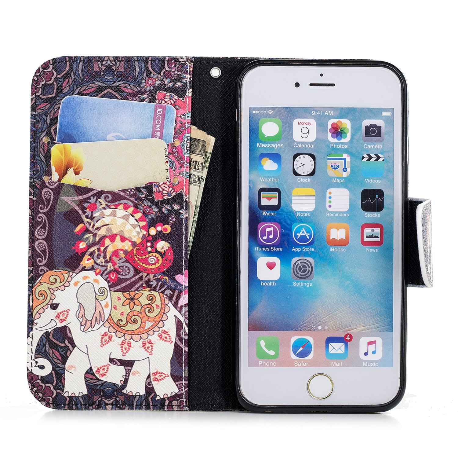 7dbea13ab768 Coque pour iPhone 6  6S, Etui Housse de Protection iPhone 6  6S ...