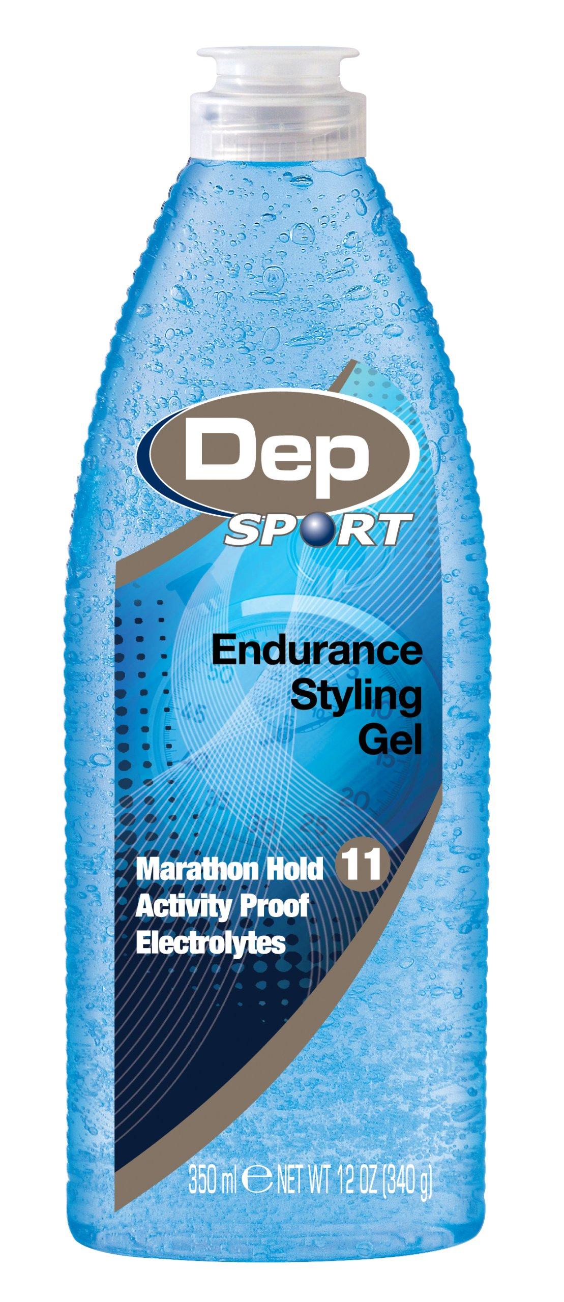 Dep Sport Endurance Styling Gel, 12-Oz. (Pack of 3) by Dep