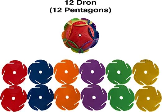 Monkey Business Sports Space Chips First Five Drons aka The Platonic Solids