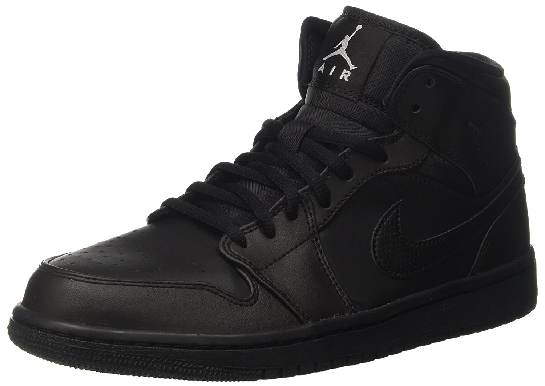 newest 6fe9d 4abdf Nike Men s Air Jordan 1 Mid Basketball Shoes, (Black White), 7 UK   Amazon.co.uk  Sports   Outdoors