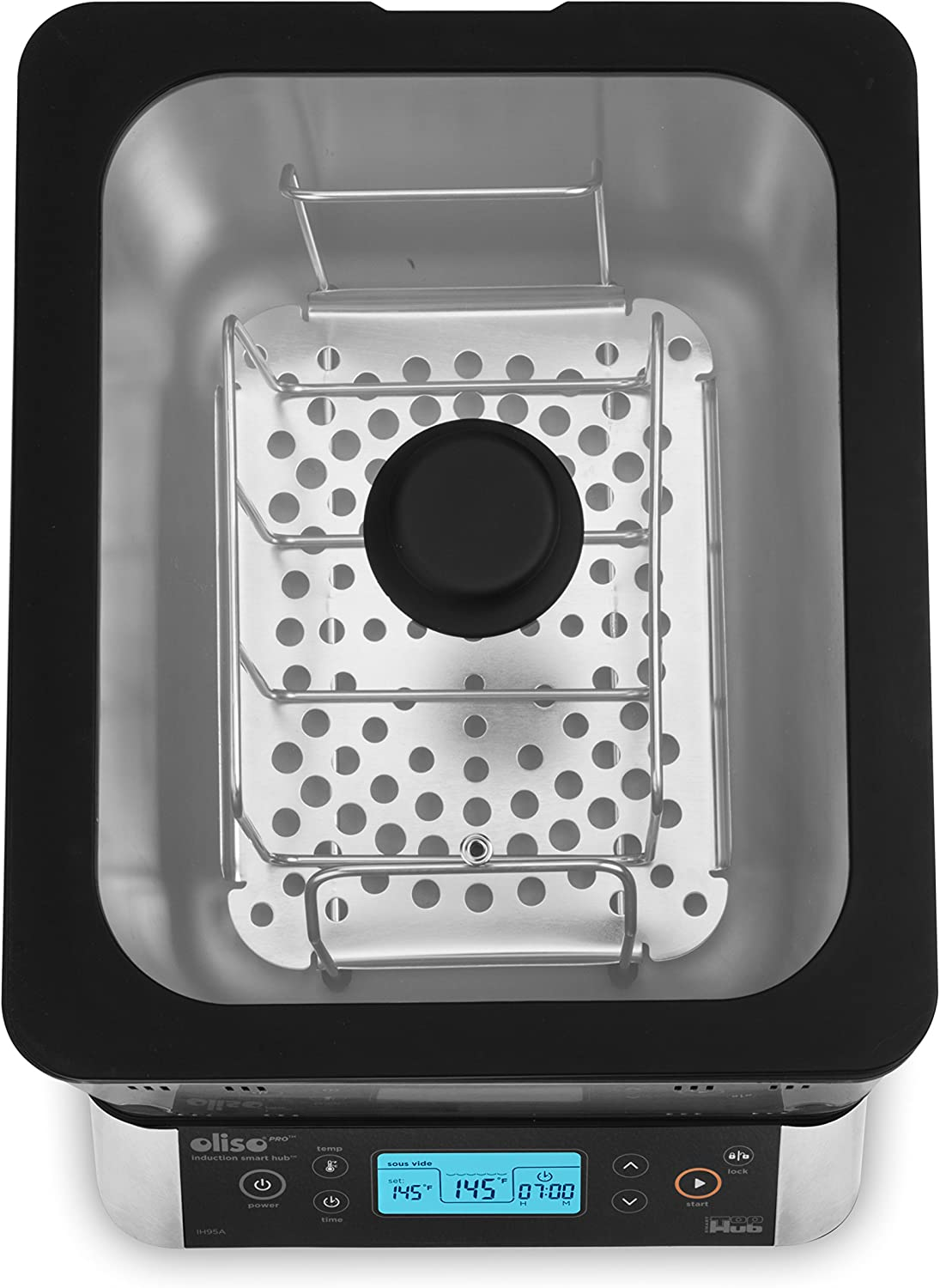 Oliso SmartTop Water Bath for SmartHub Induction Cooktop Top Only 11 Quart