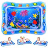 Water Play Mat, Inflatable Infant Baby Toys and Toddler Entertainment Activity Game Center, used for the growth of the…