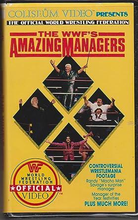Amazon Com Wwf Amazing Managers Lou Albano Mr Fuji Bobby Heenan Johnny Valiant Movies Tv