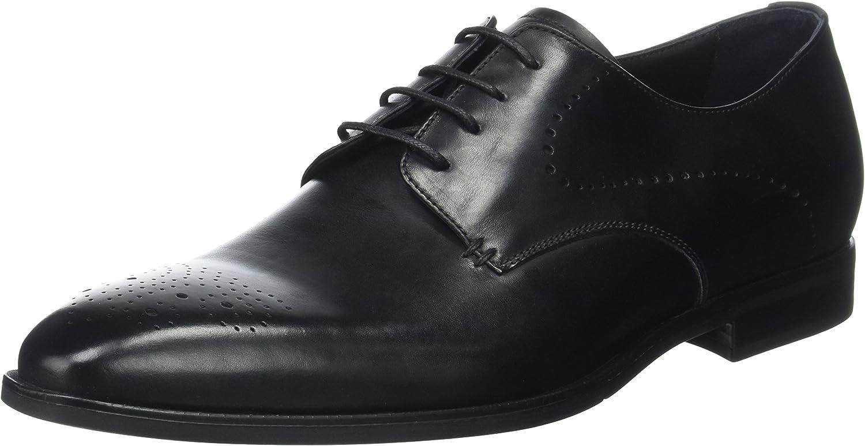 TALLA 39 EU. Geox U New Life A, Zapatos de Cordones Derby para Hombre