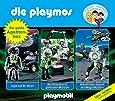Die Playmos - Die Große Agenten-Box - Folge 19, 23 und 31; 3-Original-Hörspiele