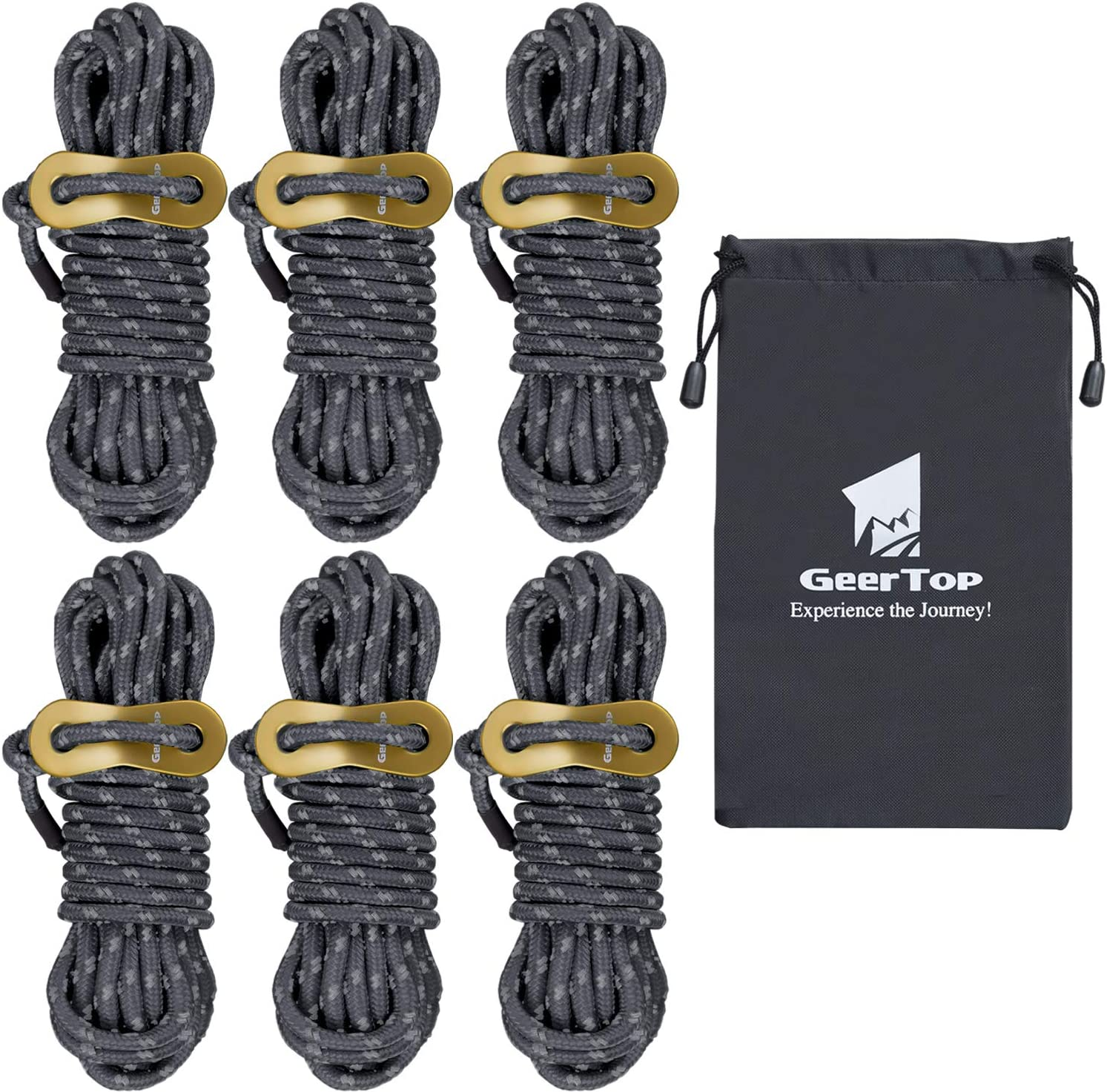 Outdoor Camping Hiking Tent Canopy Awning Rope Guy Line Cord Binding Materials