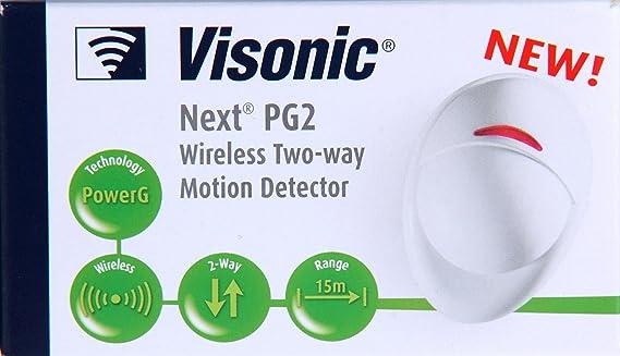 Visonic Next PG2 para poder Master inalámbrico dos-way sunsprite PIR Detector de movimiento: Amazon.es: Bricolaje y herramientas