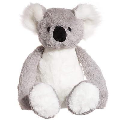 charaHOME Koala Bear Stuffed Animal Plush Toy, Grey White, Soft Cuddly, Gifts for Kids, 10'': Toys & Games