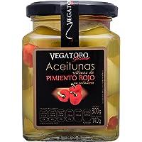 Vegatoro Aceitunas Rellenas con Pimiento Rojo, 300 g