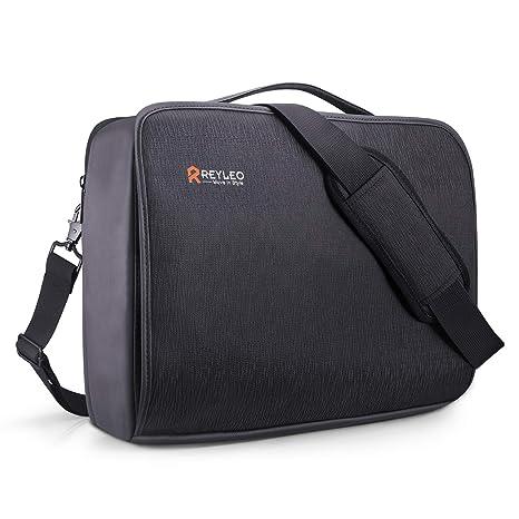 ba9cc35e4aedc8 Offerta Prime Day REYLEO Borsa per PC Portatile da 15.6 Pollici e Tablet, Borsa  per