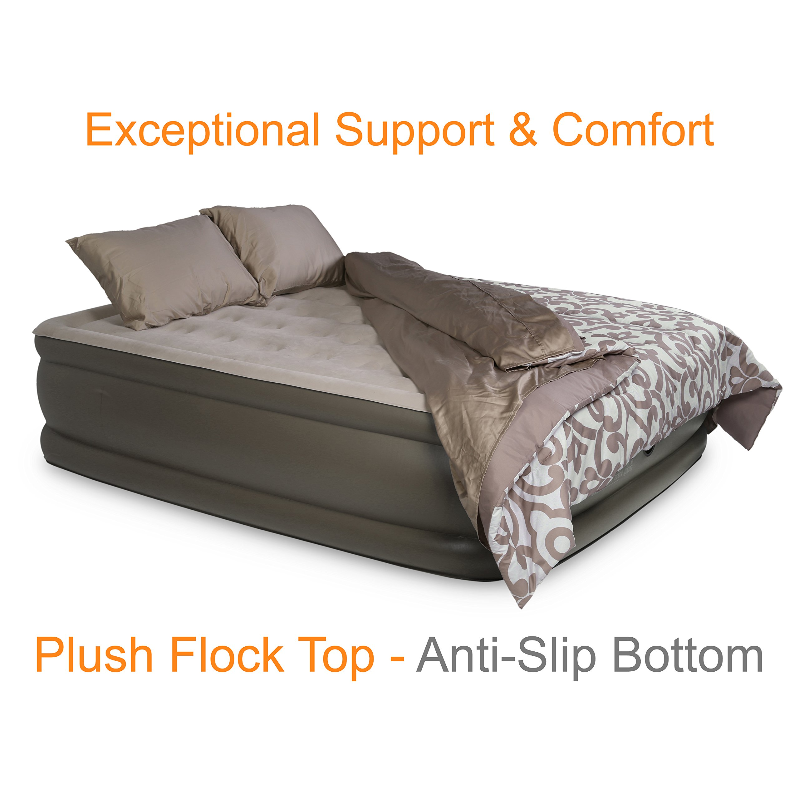 replaceable plush systems sterling innerspring products queen zip sleep plushtop imperial tops top pillow size on by hybrid mattress