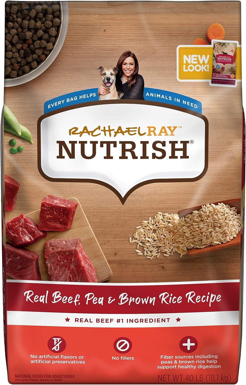 Rachael Ray Nutrish Dry Dog Food, Beef, Pea & Brown Rice Recipe (Packaging May Vary)