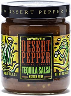 product image for Desert Pepper Tequila Salsa, Medium Burn, 16-Ounce (6 Pack)