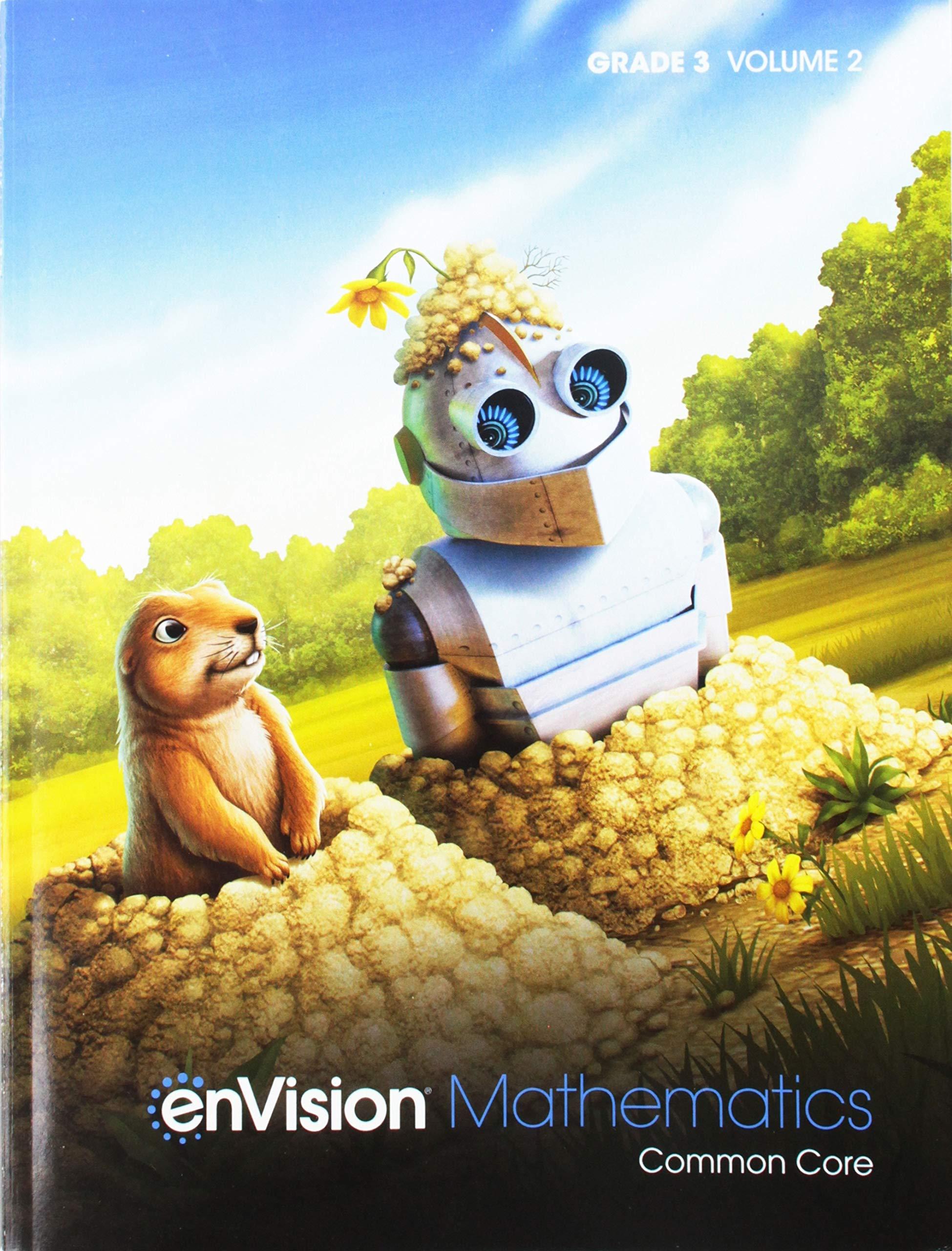 Amazon Com Envision Mathematics 2020 Common Core Student Edition Grade 3 Volume 2 9780134954769 Scott Foresman Books
