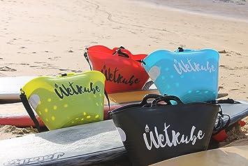 WETKUBE Surf. Sistema Patentado Que acelera el Secado del Neopreno mientra se transporta. (Verde): Amazon.es: Deportes y aire libre