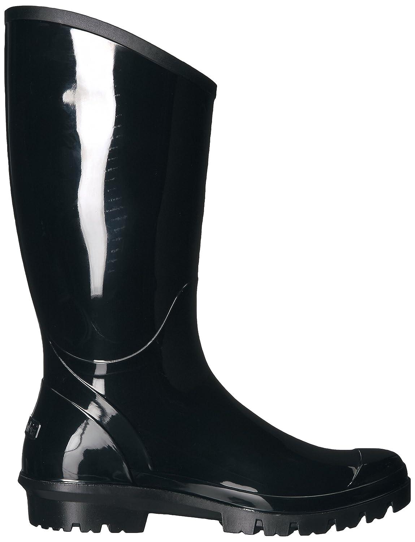 Amazon.com   Columbia Women's Rainey Tall Rain Boot, Black, Monument, 7 B US   Mid-Calf