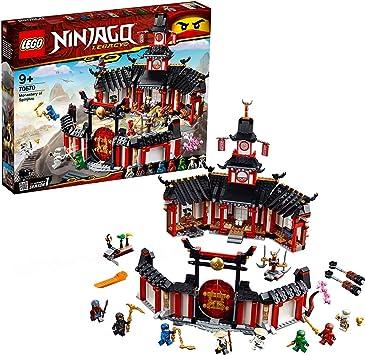 Oferta amazon: LEGO Ninjago - Monasterio del Spinjitzu, juguete creativo e imaginativo de construcción con templo para aventuras ninja (70670)