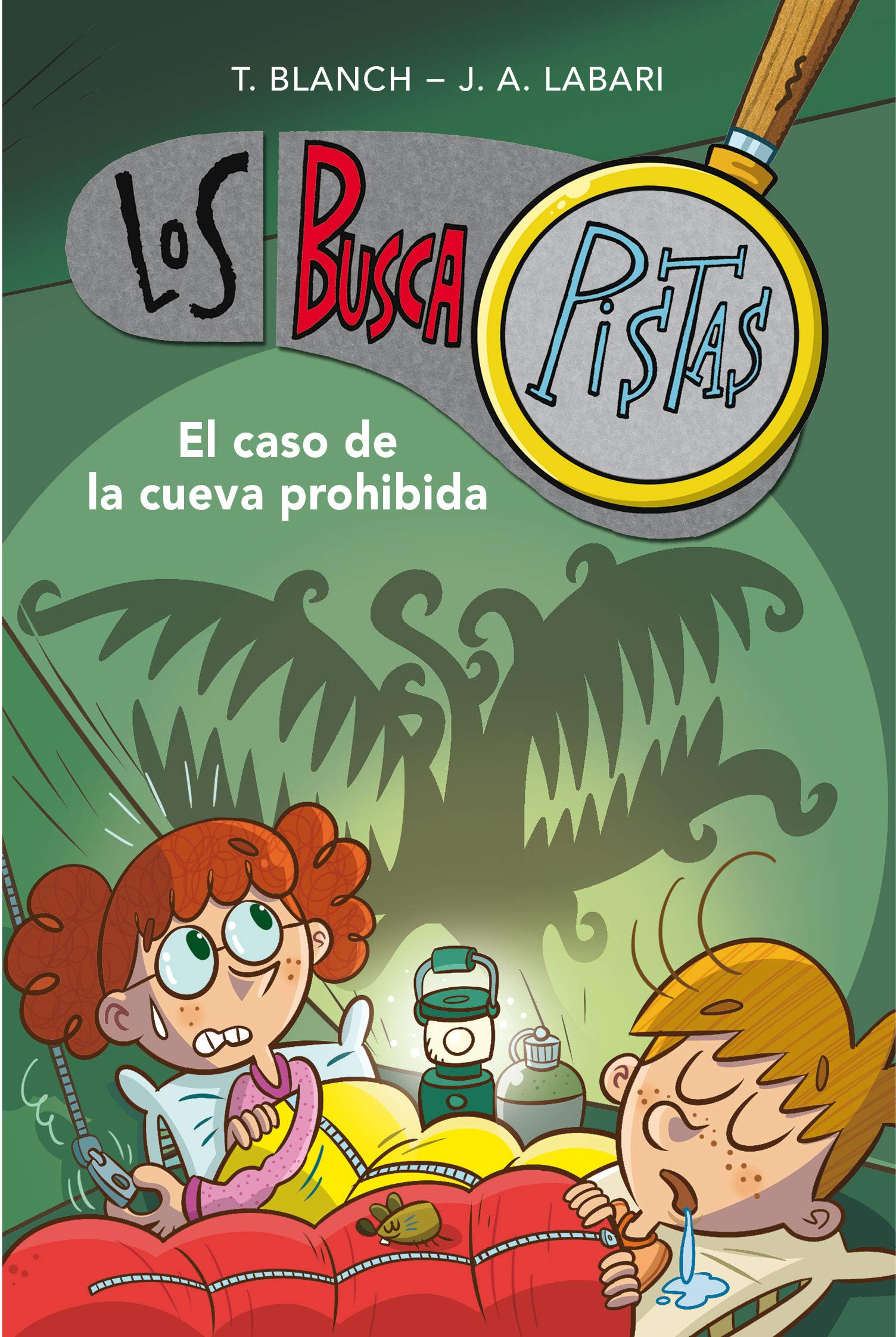 El caso de la cueva prohibida Serie Los BuscaPistas 10: Amazon.es: Teresa  Blanch, José Ángel Labari Ilundain: Libros