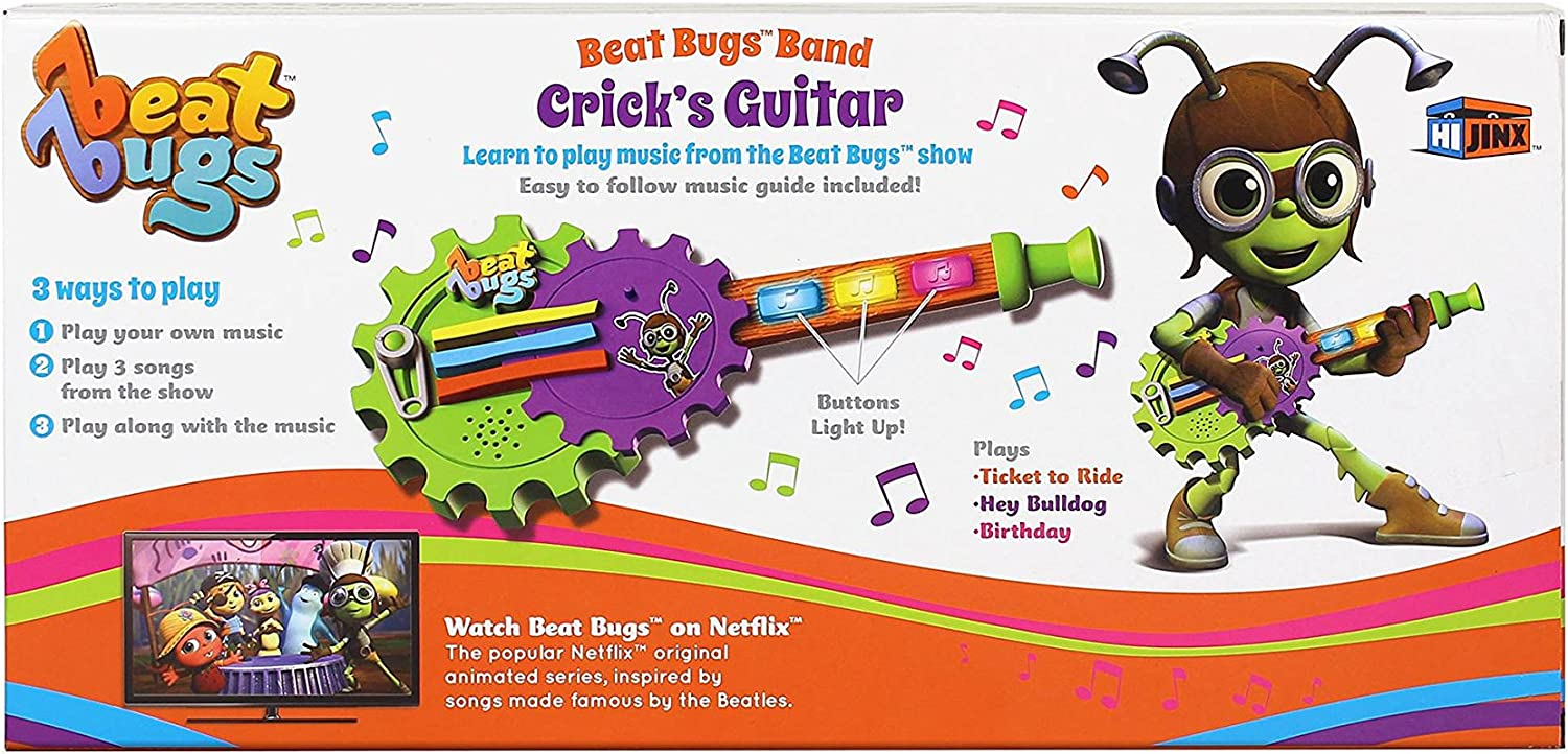 New Beat Bugs Band Crick/'s Guitar