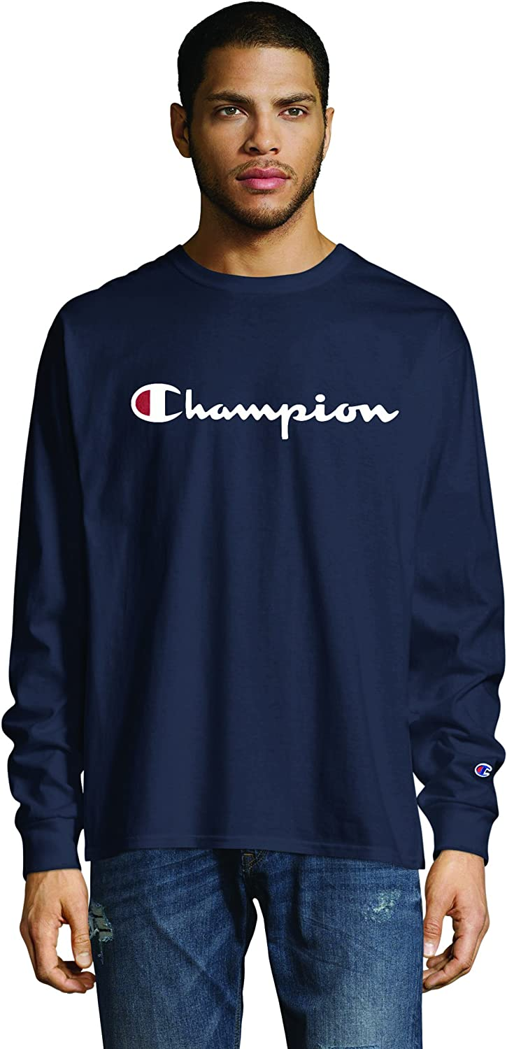Champion Mens Long Sleeve Top Long Sleeve Tops