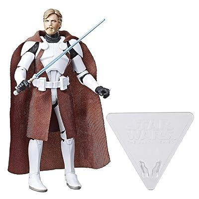 Star Wars Black Series: Clone Commander OBI Wan: Toys & Games