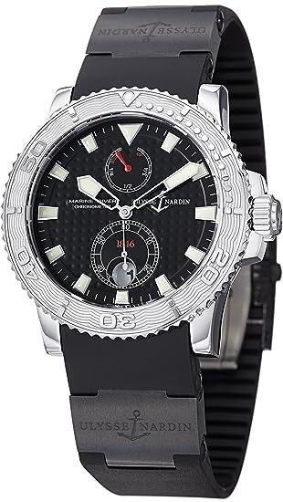 Ulysse Nardin Reloj de Hombre automático 42mm Correa de Goma 263-33-3C/92: Ulysse Nardin: Amazon.es: Relojes