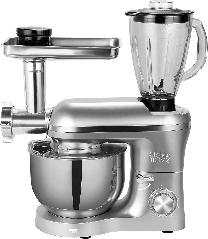 Robot de cocina picadora multifunción 1500 W, cuenco 5,5 L, Viper ...