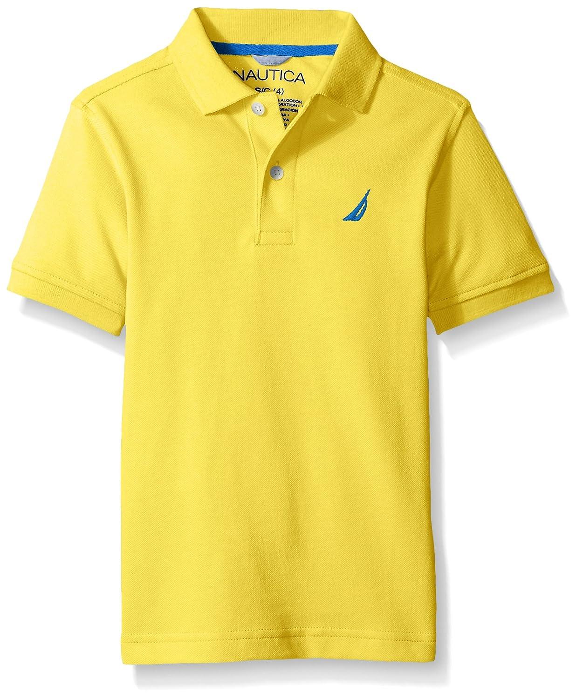 Amazon Nautica Little Boys Short Sleeve Solid Deck Polo Shirt