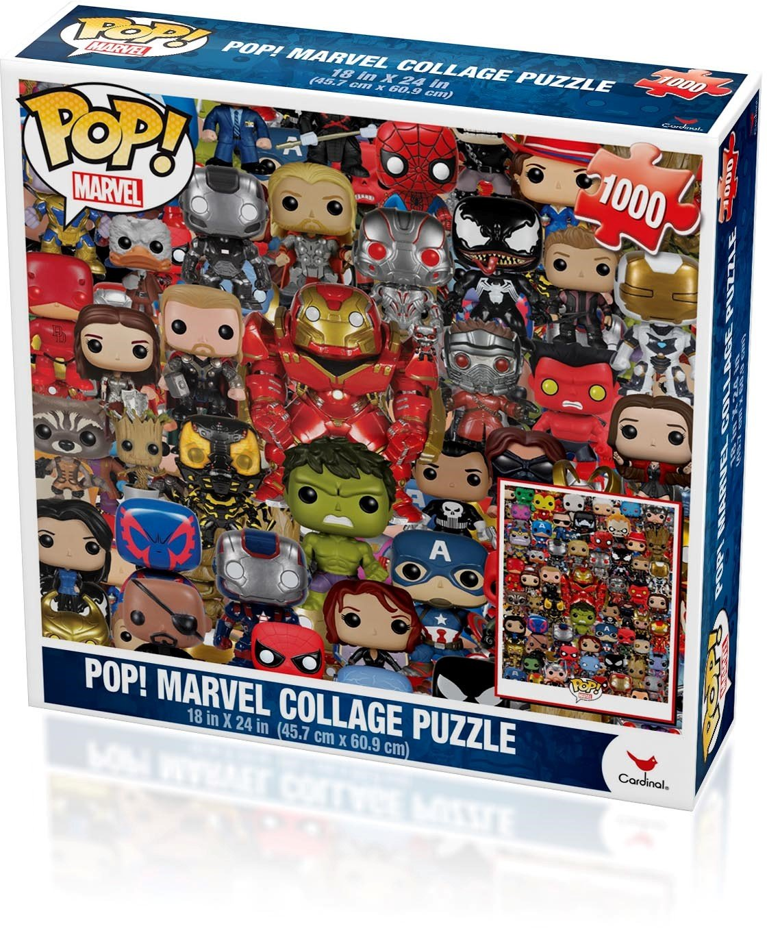 Marvel Funko Pop Puzzle (1000-Piece)