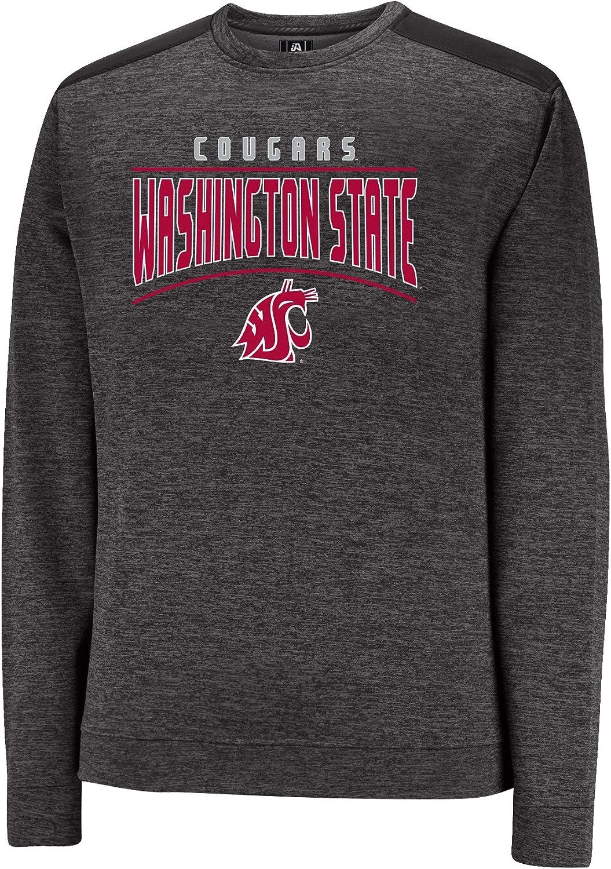J America NCAA mens Third Degree Crew Sweater