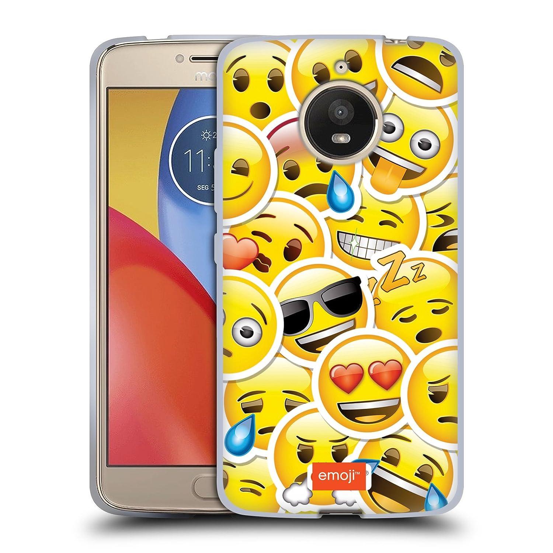 Emoji Livret Design Smiley Pour Motorola Moto E4 tkr9FC