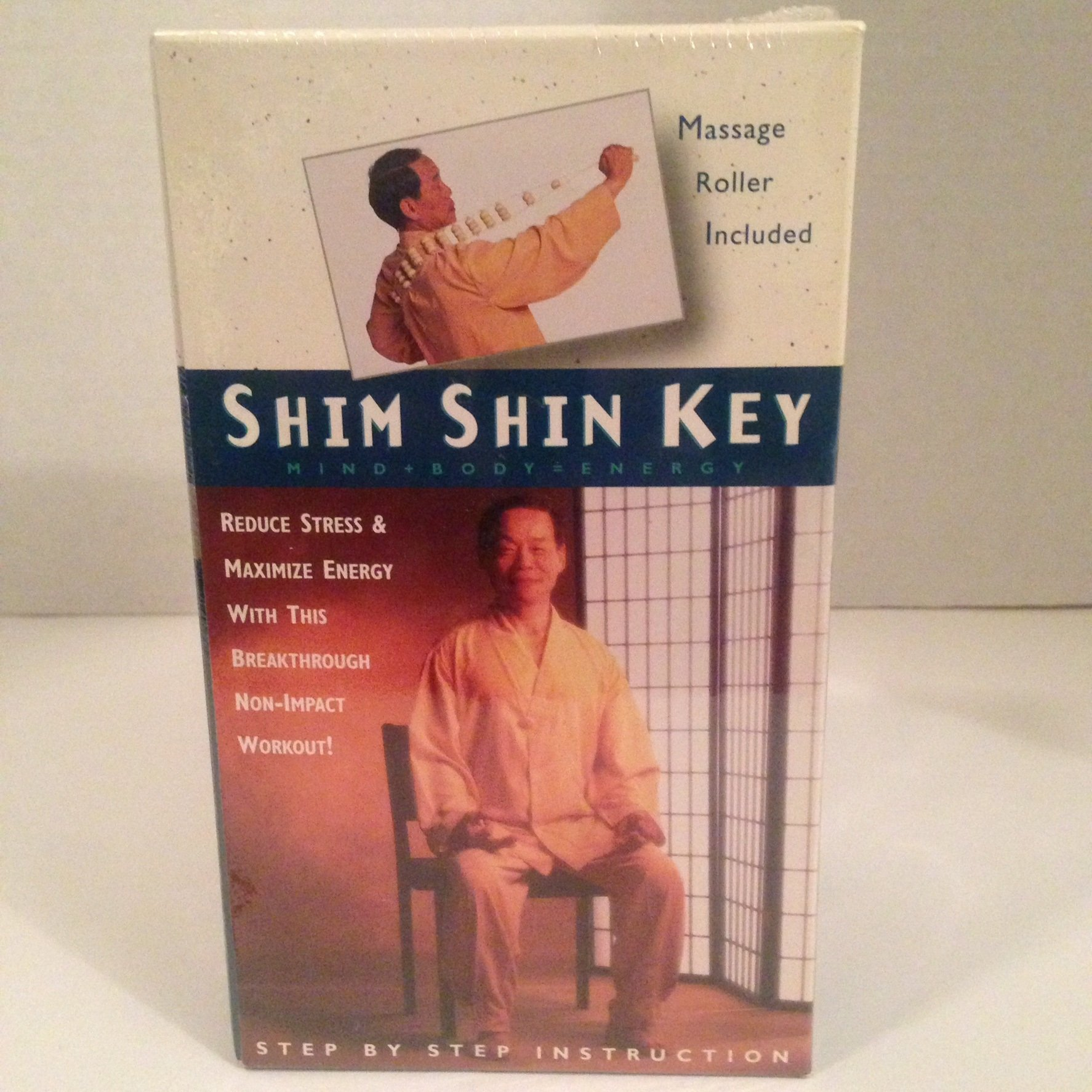Shim Shin Key [VHS] Massage Roller Included by Time-Life Video & Te