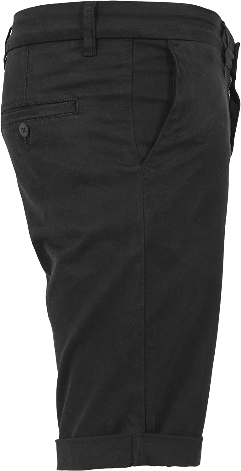 Urban Classics Mens Stretch Turnup Chino Shorts