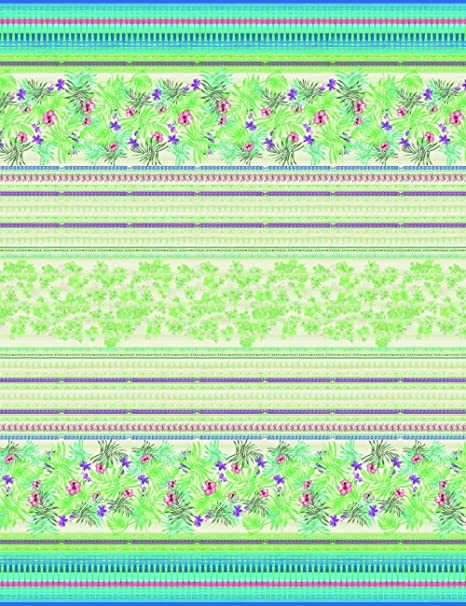 Bassetti Sorrento Configuración Foulard, algodón, Verde, 180 x 270 ...