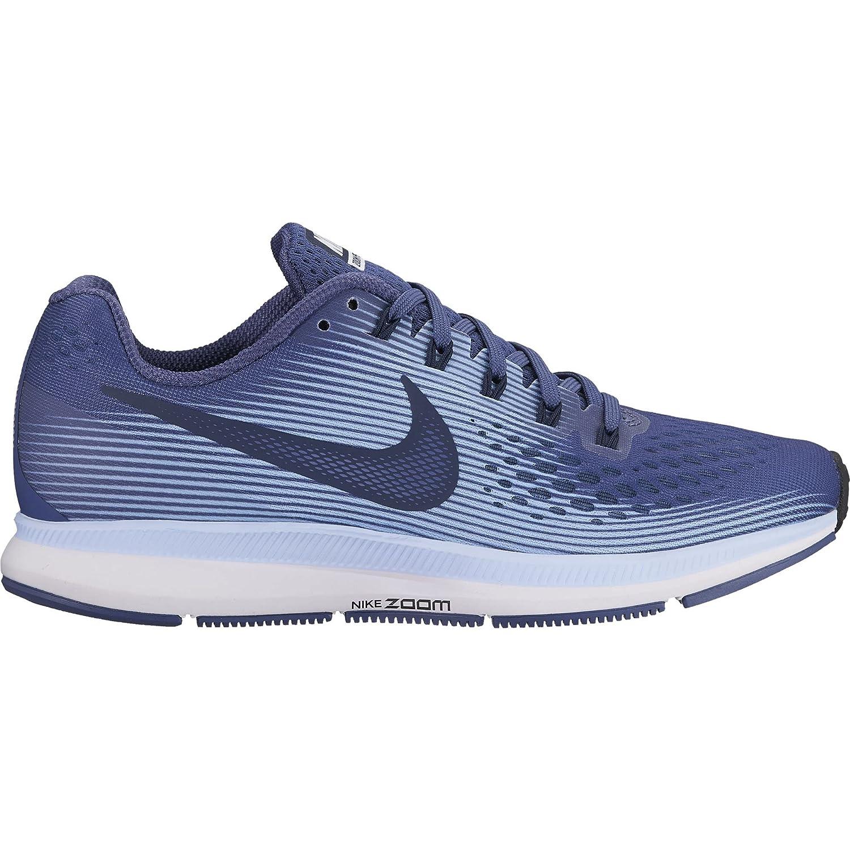 1e360c6f6fc85 Amazon.com | NIKE Women's Air Zoom Pegasus 34 Running Shoe Blue Recall/ Obsidian-Royal Tint-Black 10.5 | Road Running
