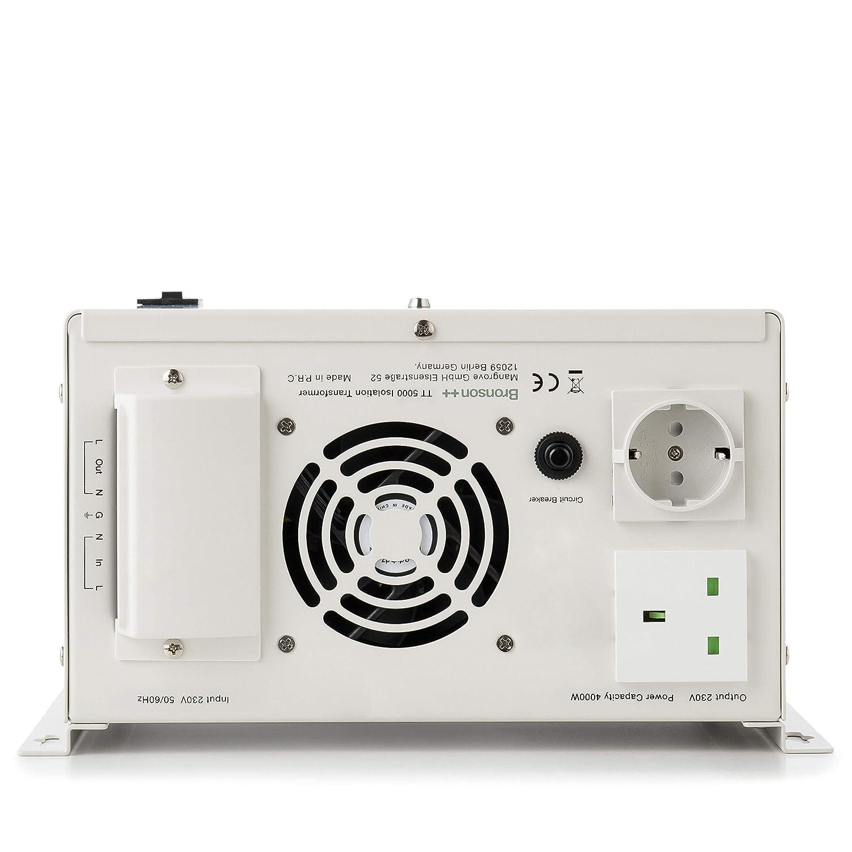 TT 500 Transformateur disolation galvanique//disolement//de s/éparation 500 Watts 230 Volt Bronson+