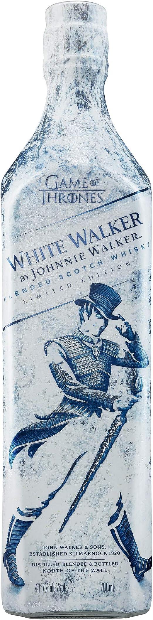 Johnnie Walker White Walker Whisky Escocés, Edición Limitada con Juego de Tronos, 700ml