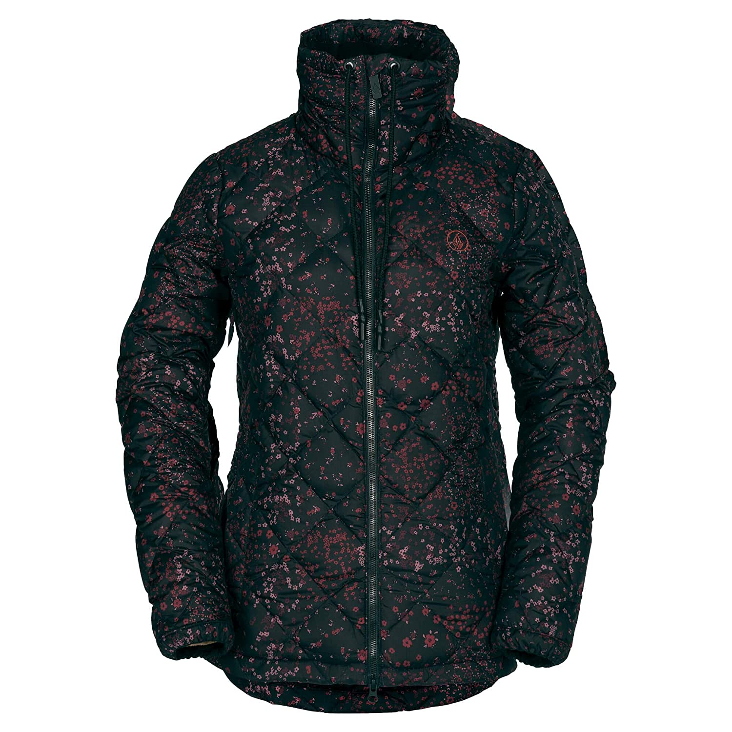 Volcom Womens Skies Down Puff Lined Snow Jacket