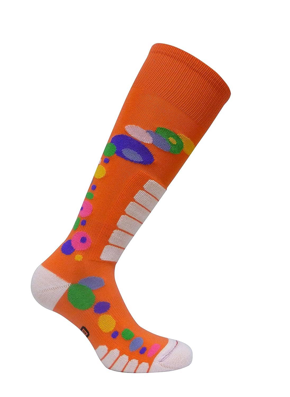 Eurosocks 0816W Womens Free Style Silver OTC Ski Socks-Pair
