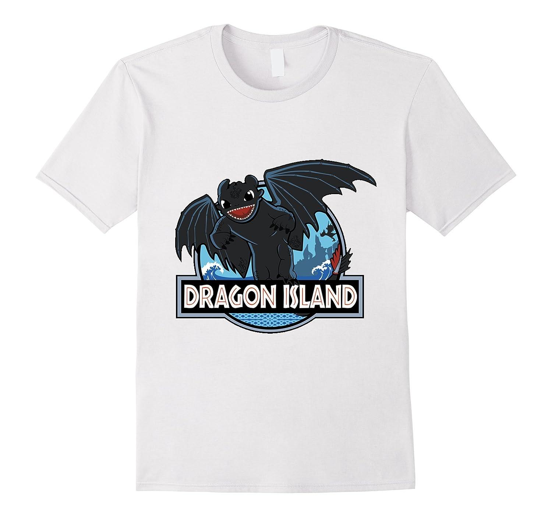 Dragon Island T-Shirt-Art