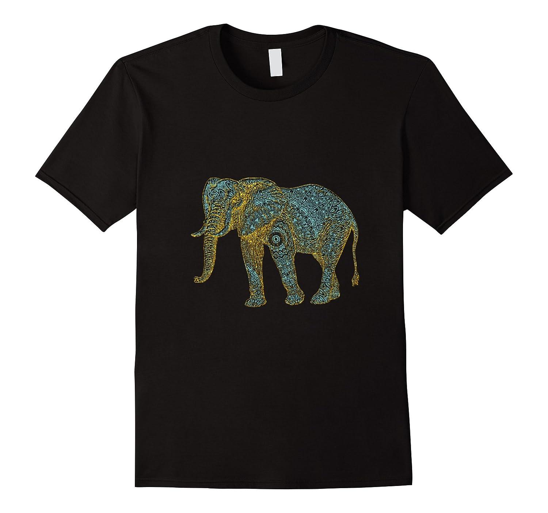 Henna Elephant Tshirt-PL